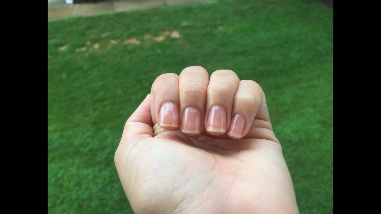 Còmo limar tus uñas correctamente. - YouTube
