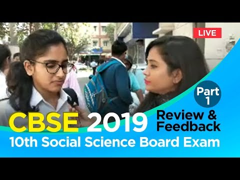 CBSE 10th Social Science Exam 2019: Paper Analysis, Review