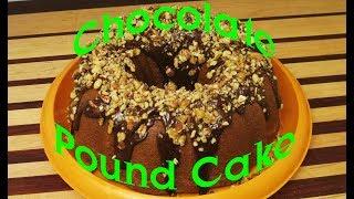 Chocolate Pound Cake Recipe (short Version)