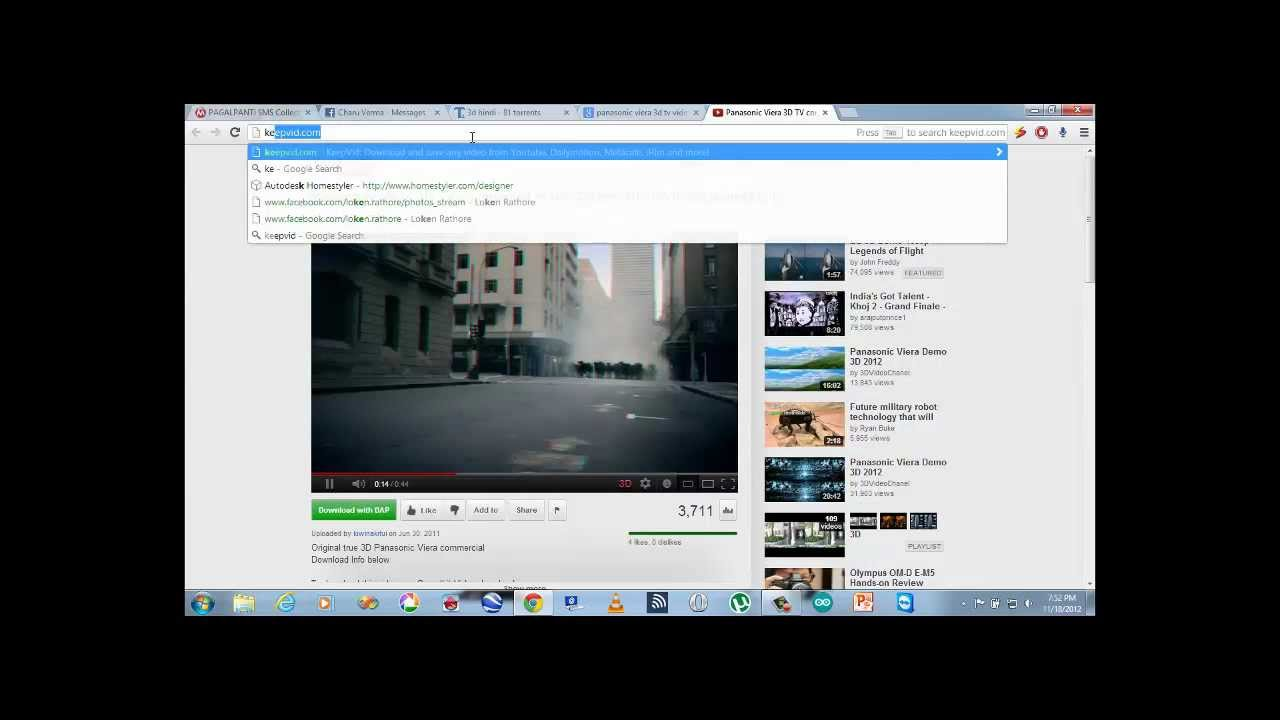 How to download 3d video from youtube online youtube how to download 3d video from youtube online ccuart Images