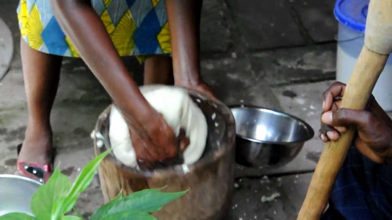 how to make african fufu