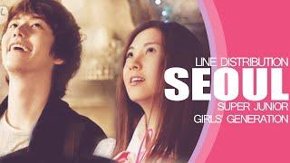SEOUL - Super Junior & Girls' Generation (Line Distribution)