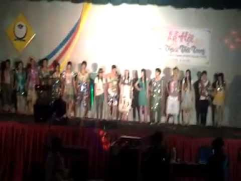 thời trang 11A4 THPT Phan Bội Châu - Krông Năng - ĐắkLắk