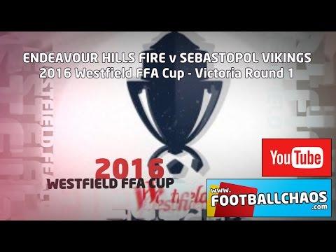 2016 FFA Cup - Endeavour Hills v Sebastopol Vikings