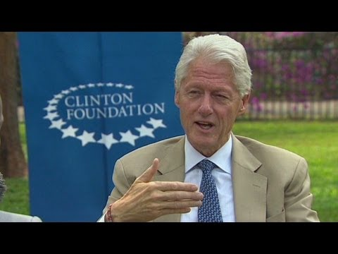 Bill Clinton mum on Weiner scandal