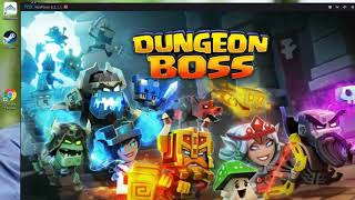 How To Play Clash Of Clans / Dungeon Boss On Your Computer (Nox Android Device On PC)