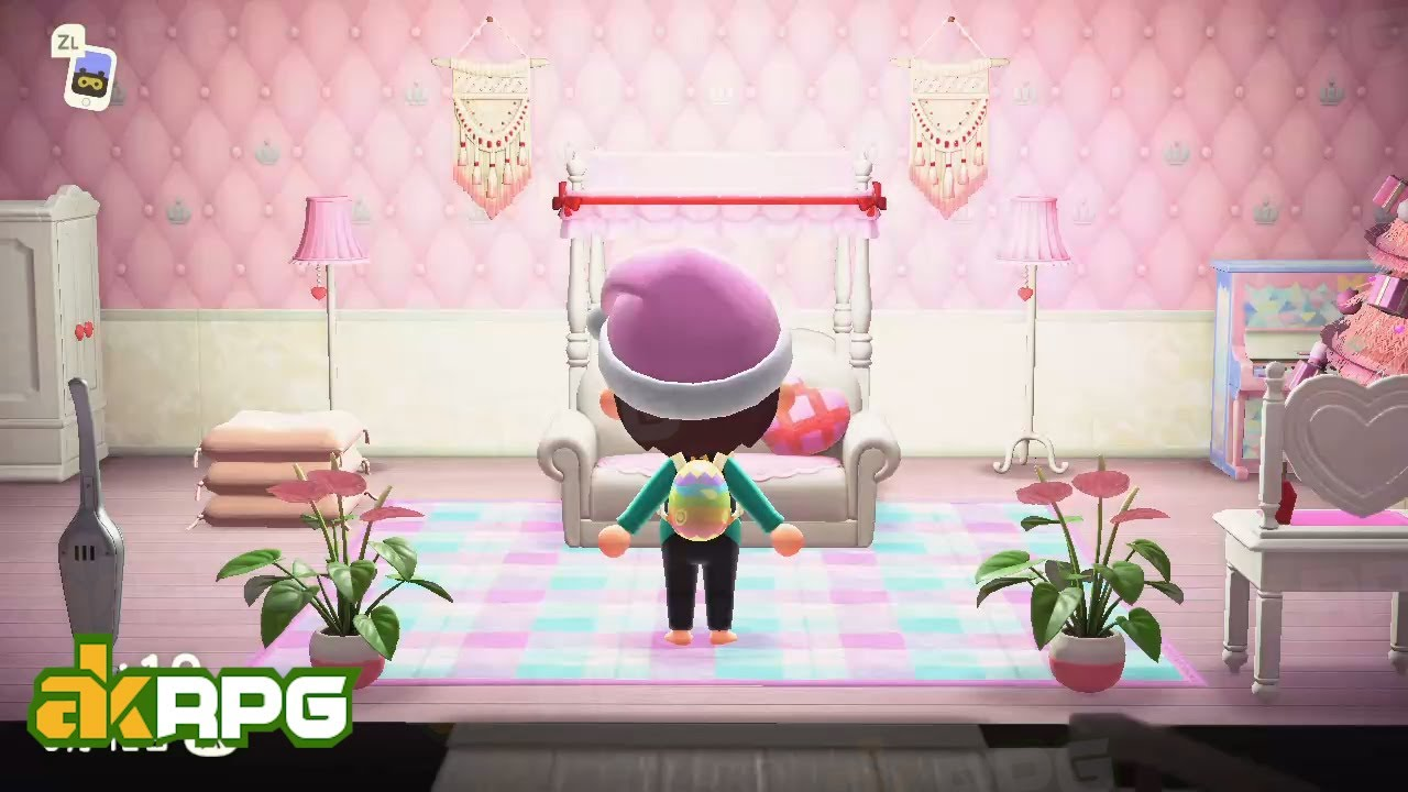 Animal Crossing New Horizons Room Designs - ACNH House ... on Animal Crossing Bedroom Ideas New Horizons  id=95633