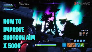 How i improved my shotgun aim in fortnite on PS4