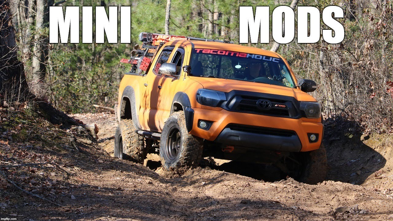 3 Great Mini Toyota Tacoma Mods for Just $36