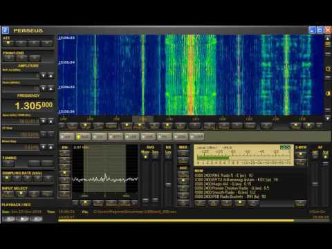 Unidentified Italian MW station relaying Radio 3 Network, 1305 kHz (Italy)
