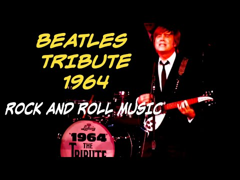 "HD: Beatles Tribute Band, ""1964"" THE TRIBUTE, Plays Encore of ""Rock and Roll Music""  @ Lock 3, Akron"