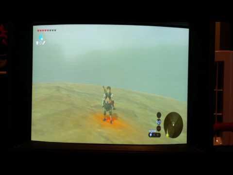 Zelda breath of the wild in 480i!!