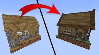 Как улучшить деревенскую библиотеку в Майнкрафте. Трансформируем деревню Minecraft #07