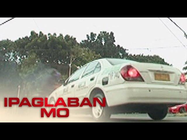 Ipaglaban Mo: Taxi vs Riding-in-tandem