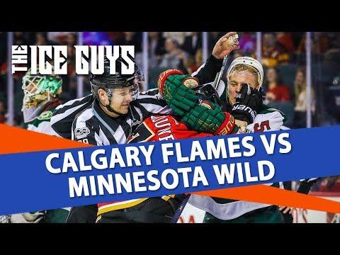 Calgary Flames vs Minnesota Wild | NHL Picks | The Ice Guys