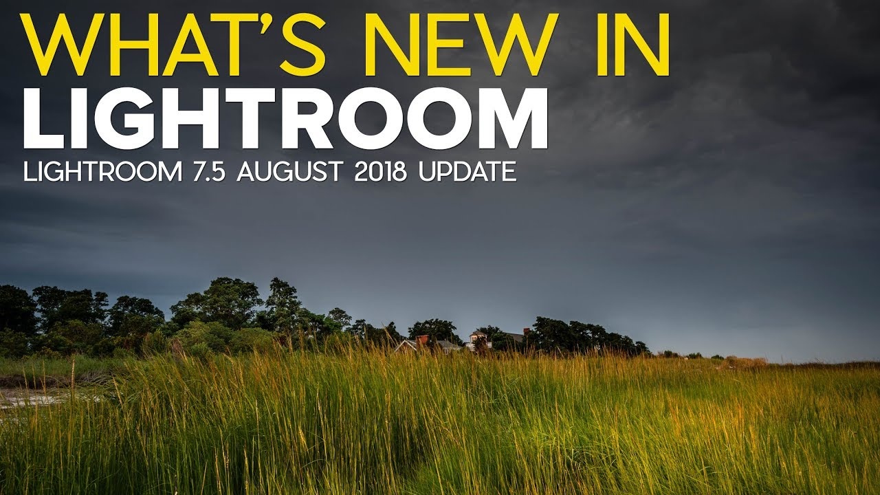 What's New in Lightroom 7.5?