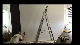 How to hang paste the wall wallpaper. A non woven paste the wall easy to use fast video of how to