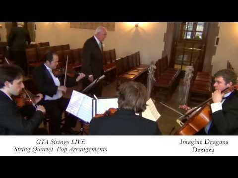 Imagine Dragons - Demons - String Quartet COVER GTA Strings