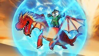 New Dragon Shield Spell UNLOCKED! (Minecraft Dragons)