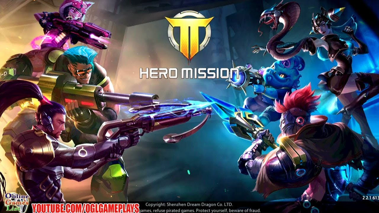 Hero Mission (Android iOS) English Gameplay ᴴᴰ