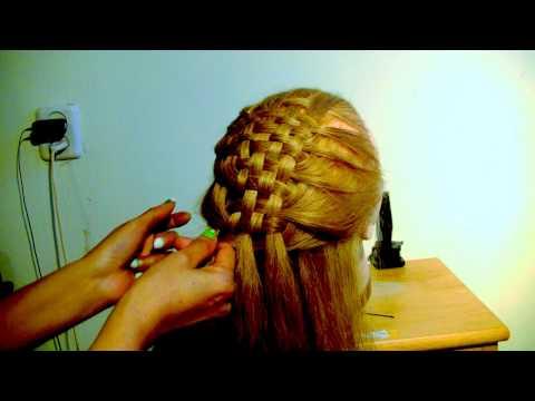 como hacer un peinado de tapete o petate