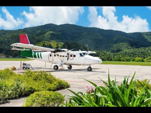 Seychelles International Airport business class lounge