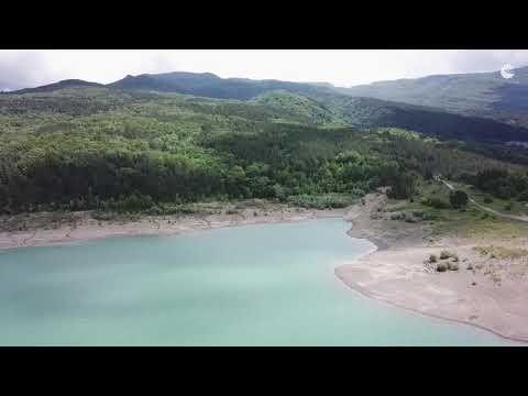 Сколько воды осталось для Южного Берега Крыма: видео с коптера