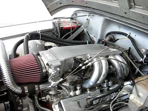 Watch on chevy 350 engine swap