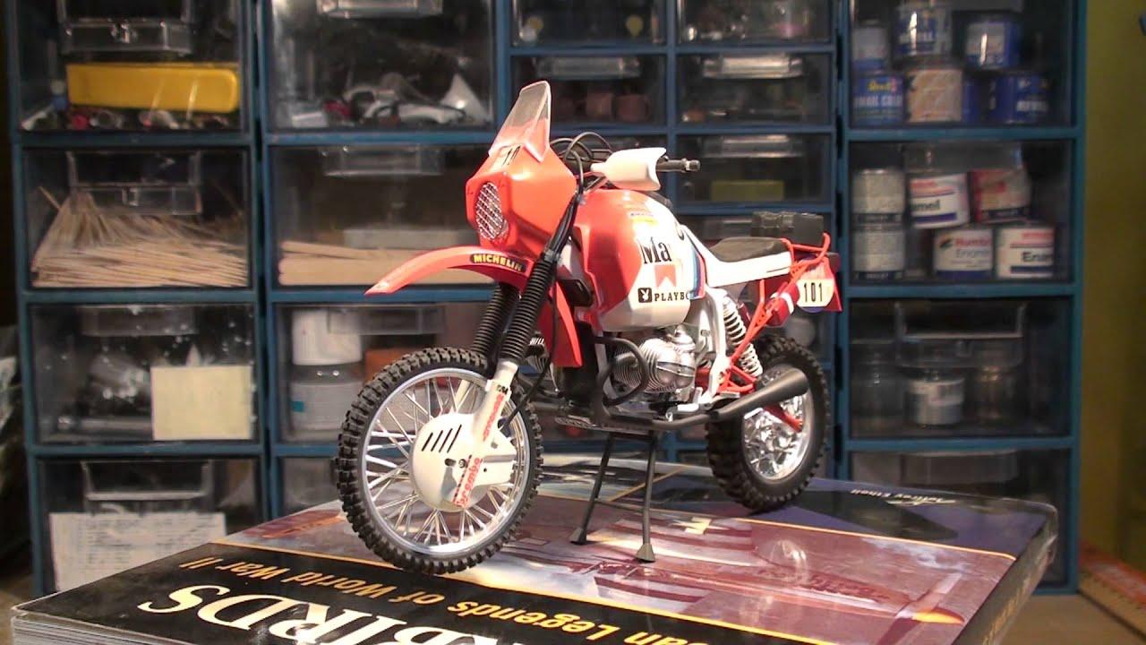 bmw r80 g  s 1000cc paris dakar   tamiya 1 12 plastic kit