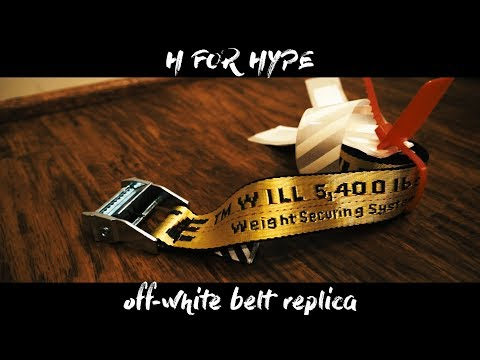 comprar online 2ab40 90142 BEST OFF WHITE INDUSTRIAL BELT REPLICA (INSANE QUALITY ...