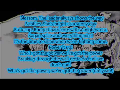 The Powerpuff girls 2016 extended theme song lyrics