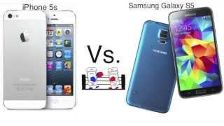 samsung galaxy s5 ve iphone 5s karşılaştırması trke hangisini almalıyız