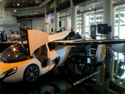 Raw: Flying Car Unveiled at Monaco Auto Show