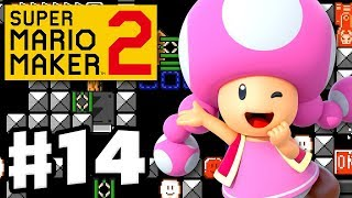 Super Mario Maker 2 - Gameplay Walkthrough Part 14 - Toadette! (Nintendo Switch)