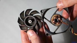 Как смазать неразборной кулер процессора