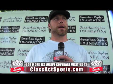 Baltimore Ravens Paul Kruger Exclusive Interview w/ Class Act Sports