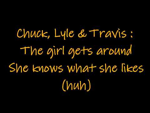 The Girl Gets Around - Footloose Lyrics
