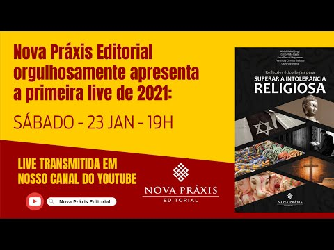 Live sobre INTOLERÂNCIA RELIGIOSA
