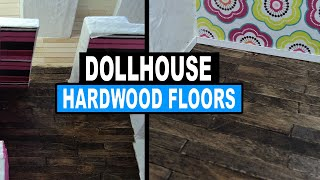 How To Make Dollhouse Hardwood Flooring Doll Crafts