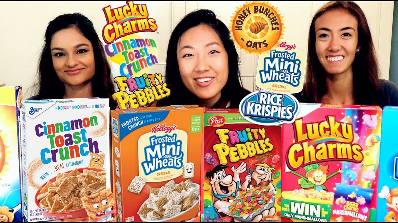 name brand vs generic cereal taste test youtube
