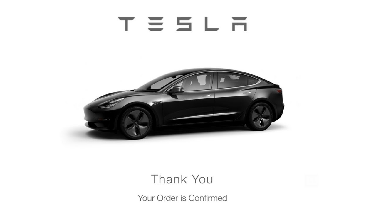 54 000 Tesla Model 3 What Options I Chose And Why