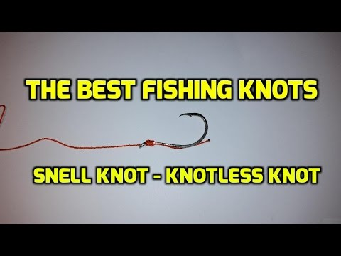 Knotless Knot Snell Knot Youtube