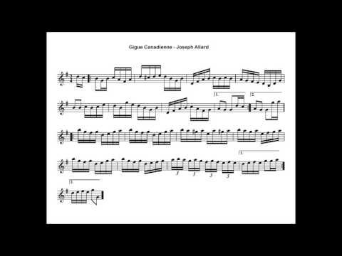 Folklore Québécois - ♫ Joseph Allard - Gigue Canadienne ♫