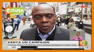 Kenya launches bid to get UN Security Council slot