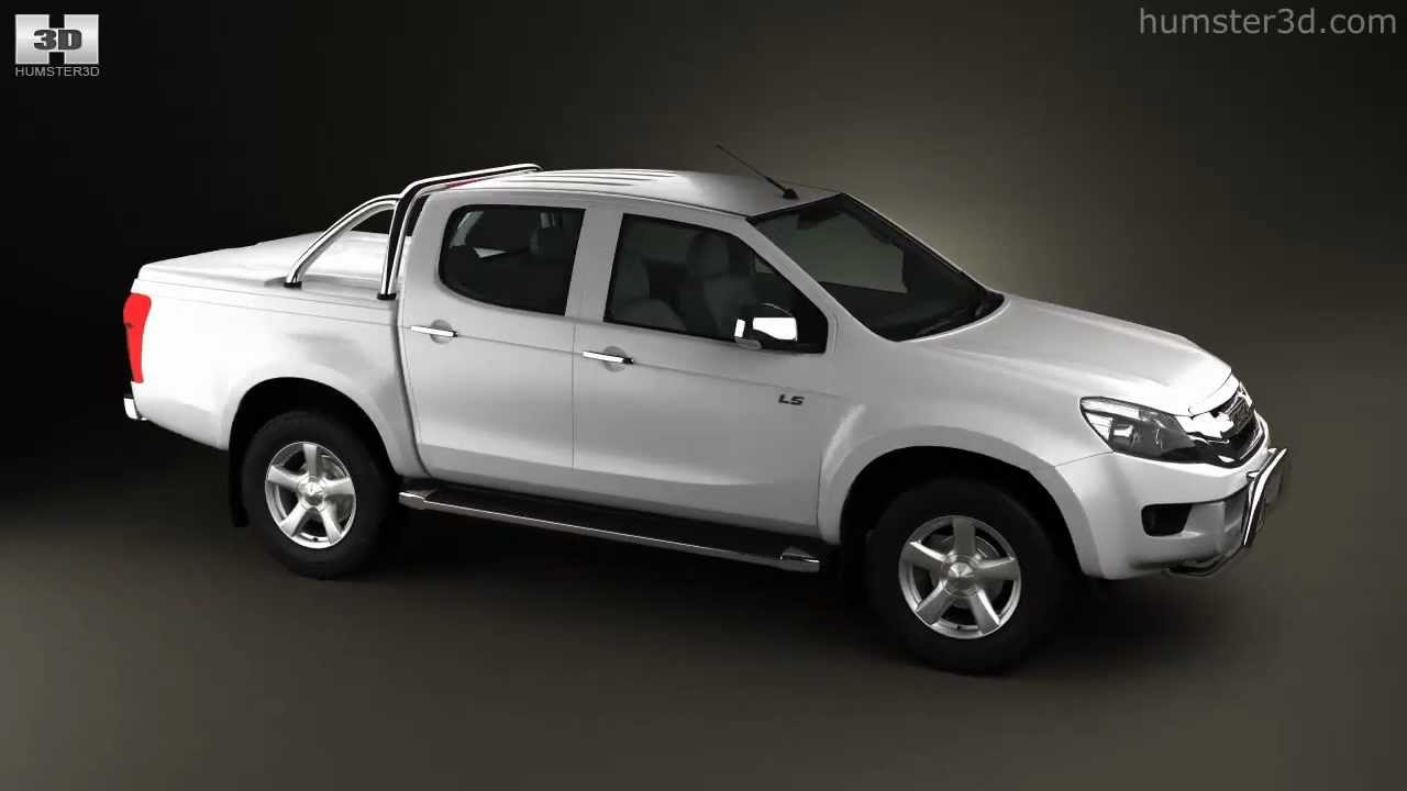 isuzu d-max double cab 20123d model store humster3d - youtube