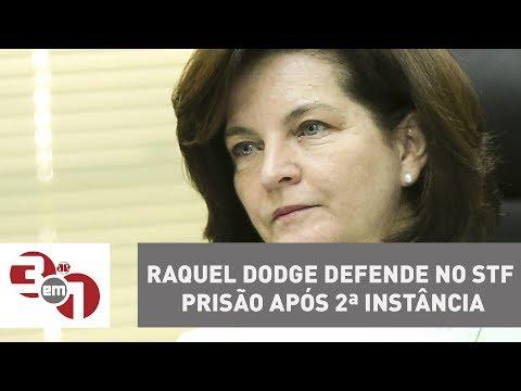 Raquel Dodge Defende No STF Prisão Após 2ª Instância