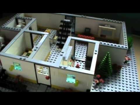 Moc  Lego Mansion   YouTube