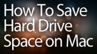 How To Quickly Free Up Hard Drive Space on Mac! (HD) - Awesome Tip