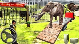 Off-Road Zoo Animal Truck Simulator 2018 - Animal Drive Cargo Transport - Android GamePlay