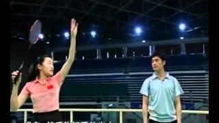 羽毛球教学 专家把脉【18】后场高远球 正手挑球